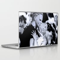 dirty dancing Laptop & iPad Skins featuring MICHAEL MYERS IN DIRTY DANCING by Luigi Tarini