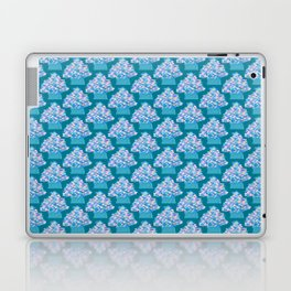 Blue Christmas Tree Laptop & iPad Skin