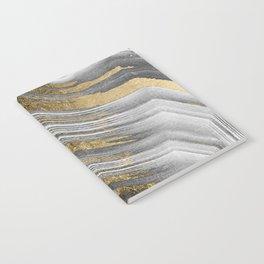 Abstract paint modern Notebook