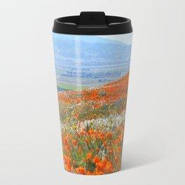 Golden Hillside Travel Mug