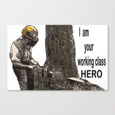 Working class Hero 2 Canvas Print