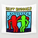 "Keith Haring inspired ""Best Buddies"" Complementary Color R&G edition by korkeddesigns"