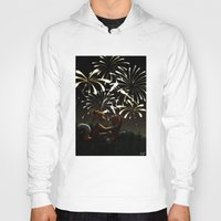 fireworks Hoodies featuring Fireworks! by Pencil Box Illustration