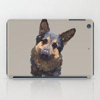 german iPad Cases featuring German Shepherd by ArtLovePassion