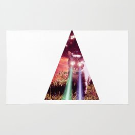 triangel cat Rug