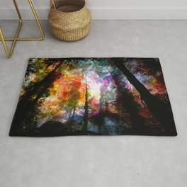 dreaming forest Rug