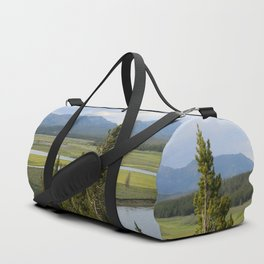 Yellowstone River Valley View Duffle Bag