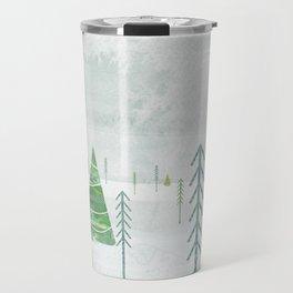 Christmas Forest Travel Mug