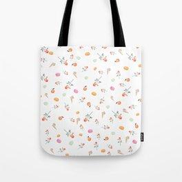 ROSES & MACARONS Tote Bag