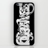 swag iPhone & iPod Skins featuring swag by limeflavored