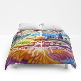 Chicago Montage 4 Comforters