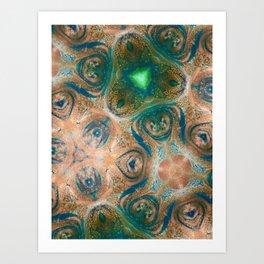 Emerald Mountain Art Print