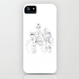 YuYu Hakusho design iPhone Case