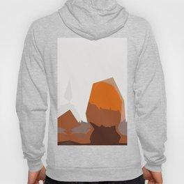 Abstract Modern Pumpkin Hoody