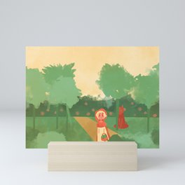 Little Red (Ver 2) Mini Art Print