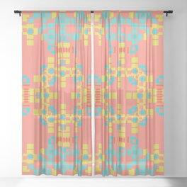 """""""Aurora"""" series #10 Sheer Curtain"""