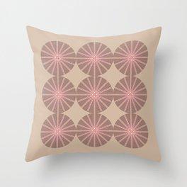 Erizo Pink Throw Pillow