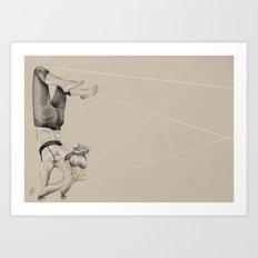 Yoga 2 Art Print