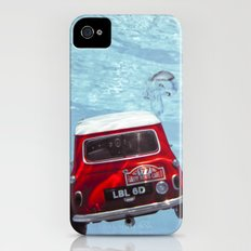 deep water swimming mini #1 iPhone (4, 4s) Slim Case