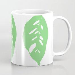 Monstera Obliqua // Monkey Mask Coffee Mug