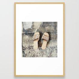 shoes Framed Art Print