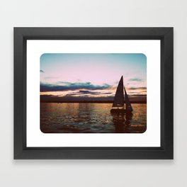 Dusk Framed Art Print