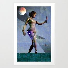 Fatale - Salomé - Night Art Print