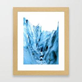 The  Ice Framed Art Print