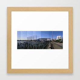 North Elevation Framed Art Print