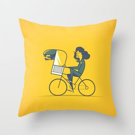 A.L.I.E.N. Throw Pillow