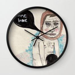 Call me indie Wall Clock