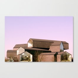 Stack Houses Canvas Print