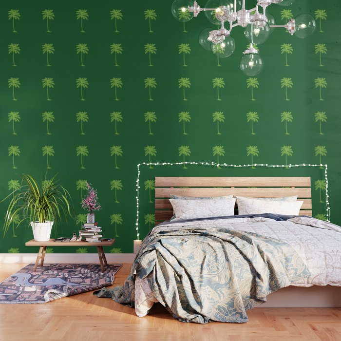 Palm Tree Wallpaper By Misterrogers
