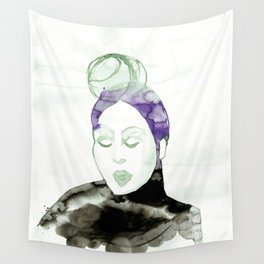 Pureen - Vintage 50s Hairdo Wall Tapestry