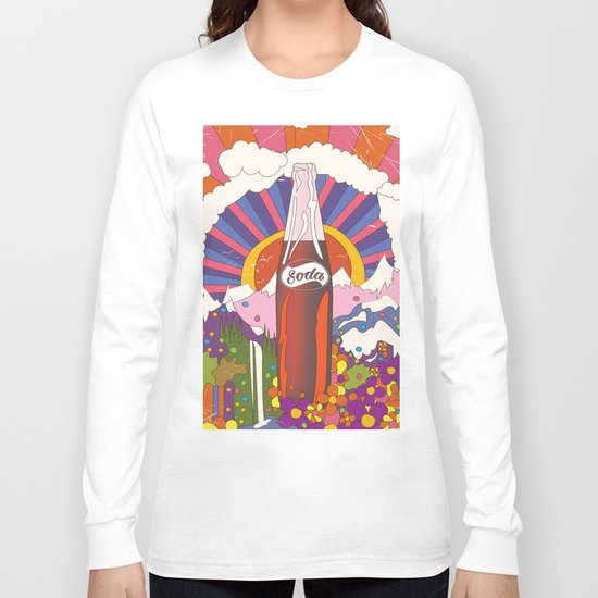 Soda Commercial Long Sleeve T-shirt