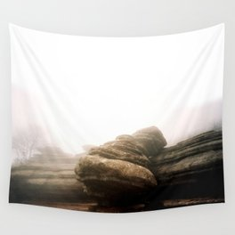 Rounded Rock Wall Tapestry
