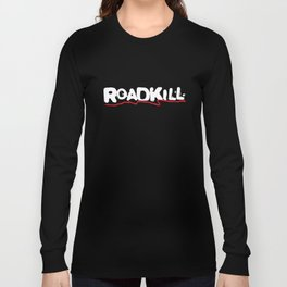 Roadkill Biker Sport Motocycle Mens V Hanes Tagless Bike T-Shirts Long Sleeve T-shirt