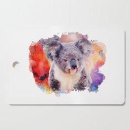 Watercolor Koala Cutting Board
