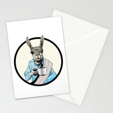 Java Llama Stationery Cards