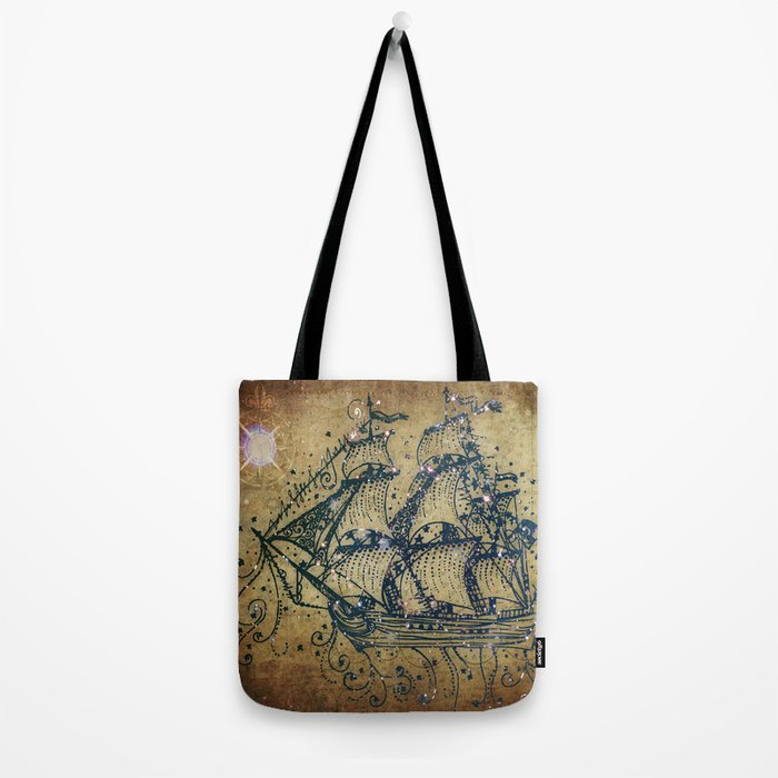 The Great Sky Ship Tote Bag