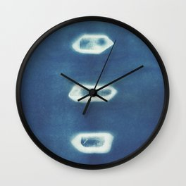 Crystalline Wall Clock