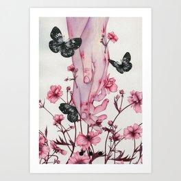 It Aches Art Print