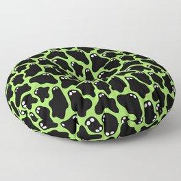 Ghosties (Green) Floor Pillow