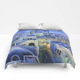 Jerusalem at Night Comforters