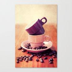 LE CAFE Canvas Print