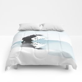 GET • HIGH • BY • THE • BE▲CH Comforters