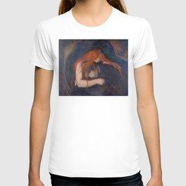 Edvard Munch - Love and Pain (The Vampire) T-shirt