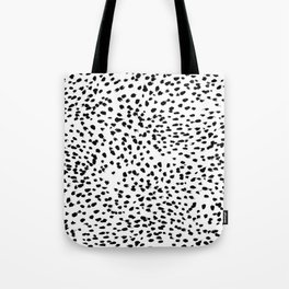 Dalmat-b&w-Animal print I Tote Bag