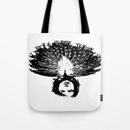 Lady Peacock Tote Bag