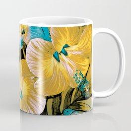 Golden Vintage Aloha Coffee Mug